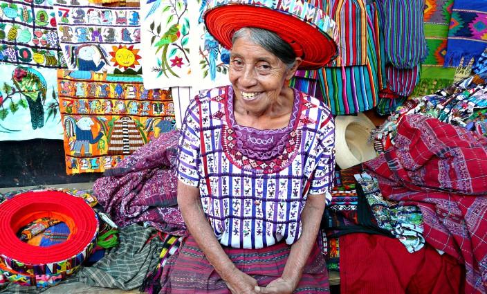 Maya-Frau in Guatemala Lateinamerika
