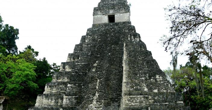 Maya-Ruinenstadt Tikal in Guatemala