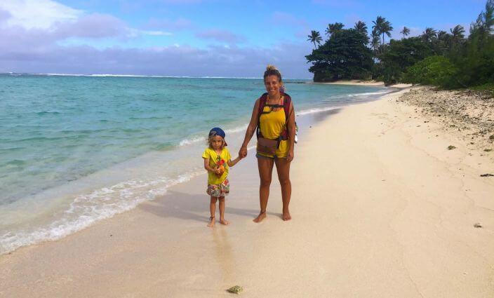 Allein mit Kind auf Reisen, Janina von Baerti muss mit