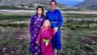 Mongolei mit Kind