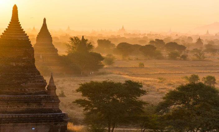 Tempel Bagan, Myanmar
