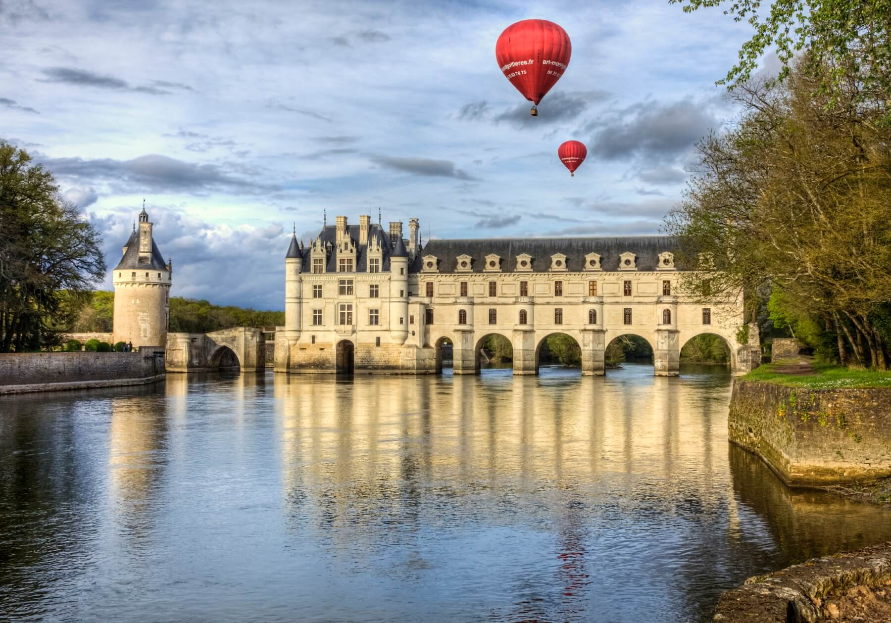 Ballonfahrten im Loiretal