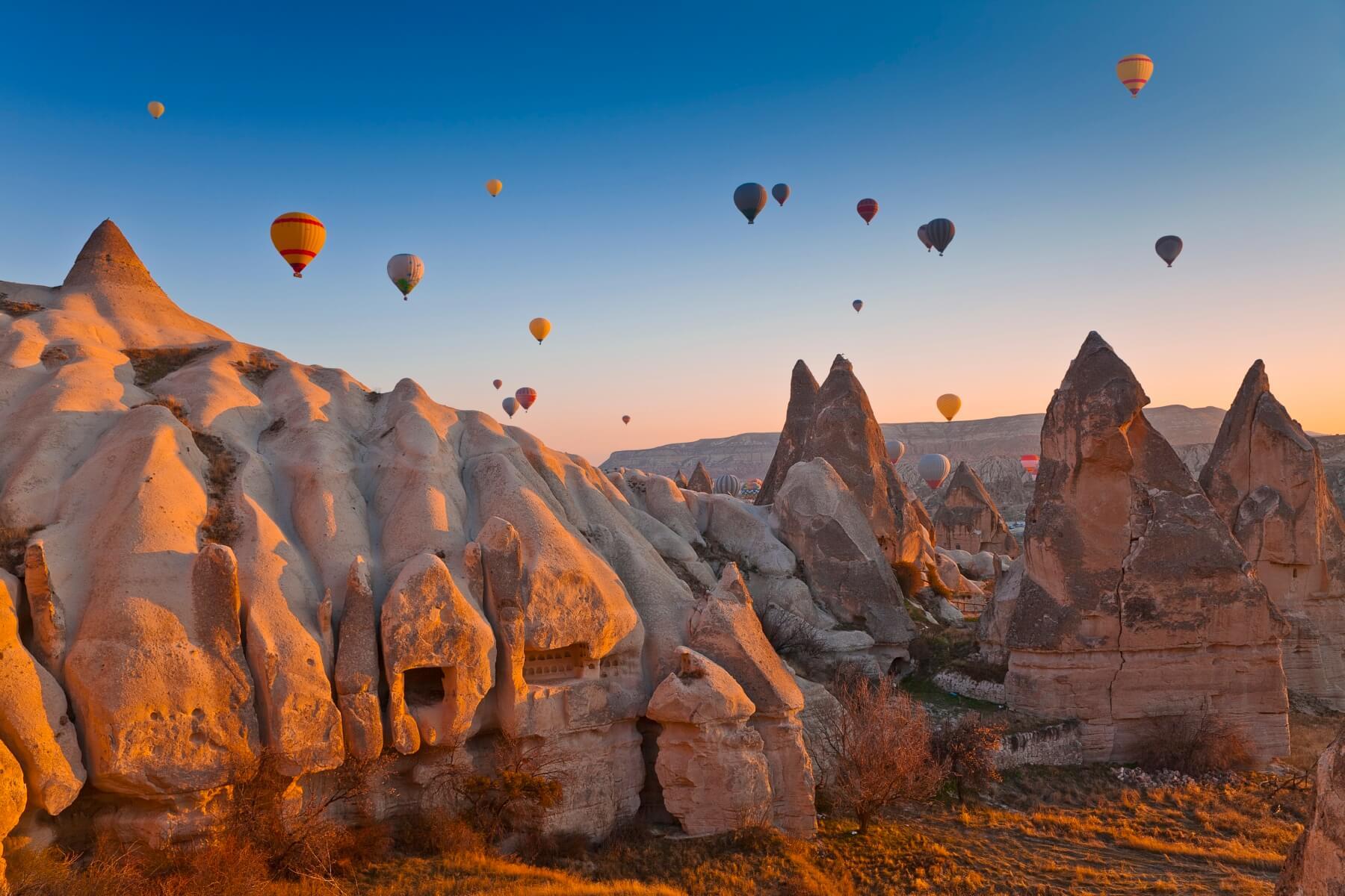 Ballonfahrten über Kappadokien