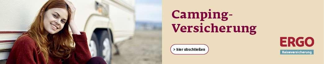 Campingversicherung der ERGO Reiseversicherung (inkl. CDW)