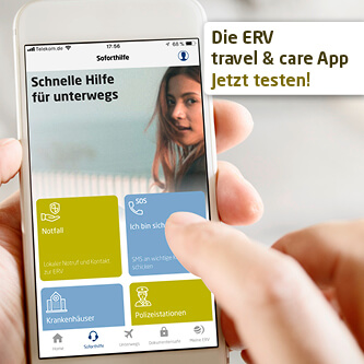 ERV App travel care