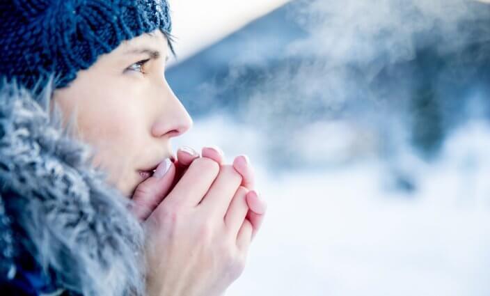 Tipps gegen Erfrierungen