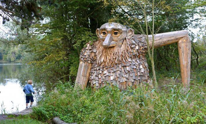 Forgotten Giants Skulptur in Daenemark