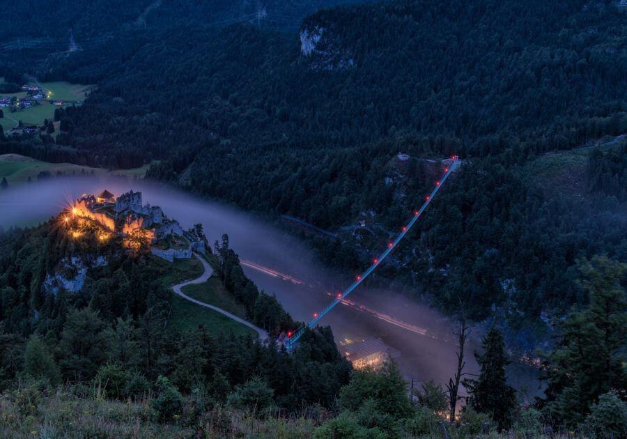 Hängebrücke in Tirol