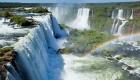 Spektakuläre Wasserfälle: Iguazu