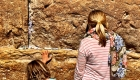 Jerusalem mit Kind Klagemauer