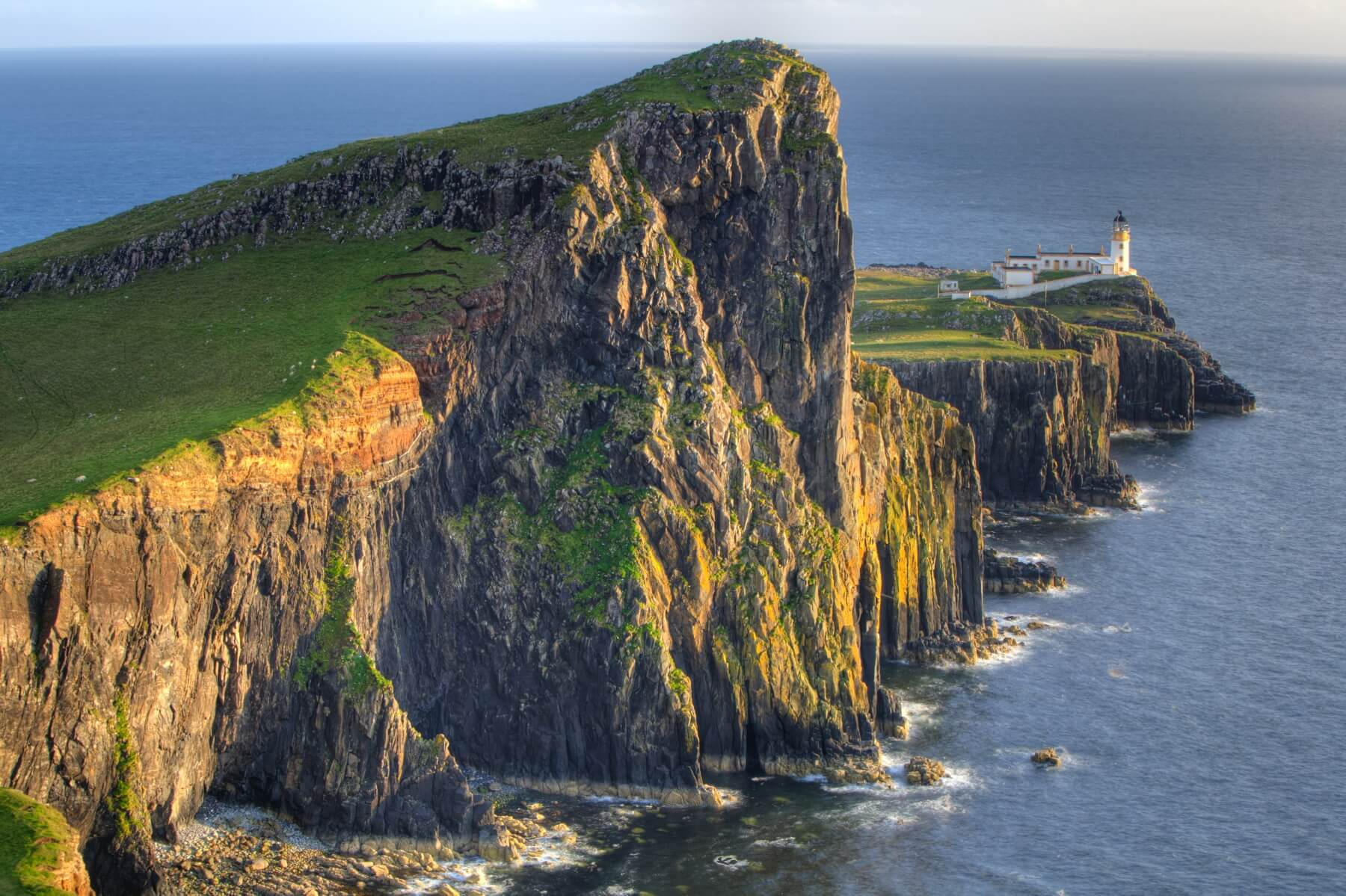 Lighthouse in Schottland