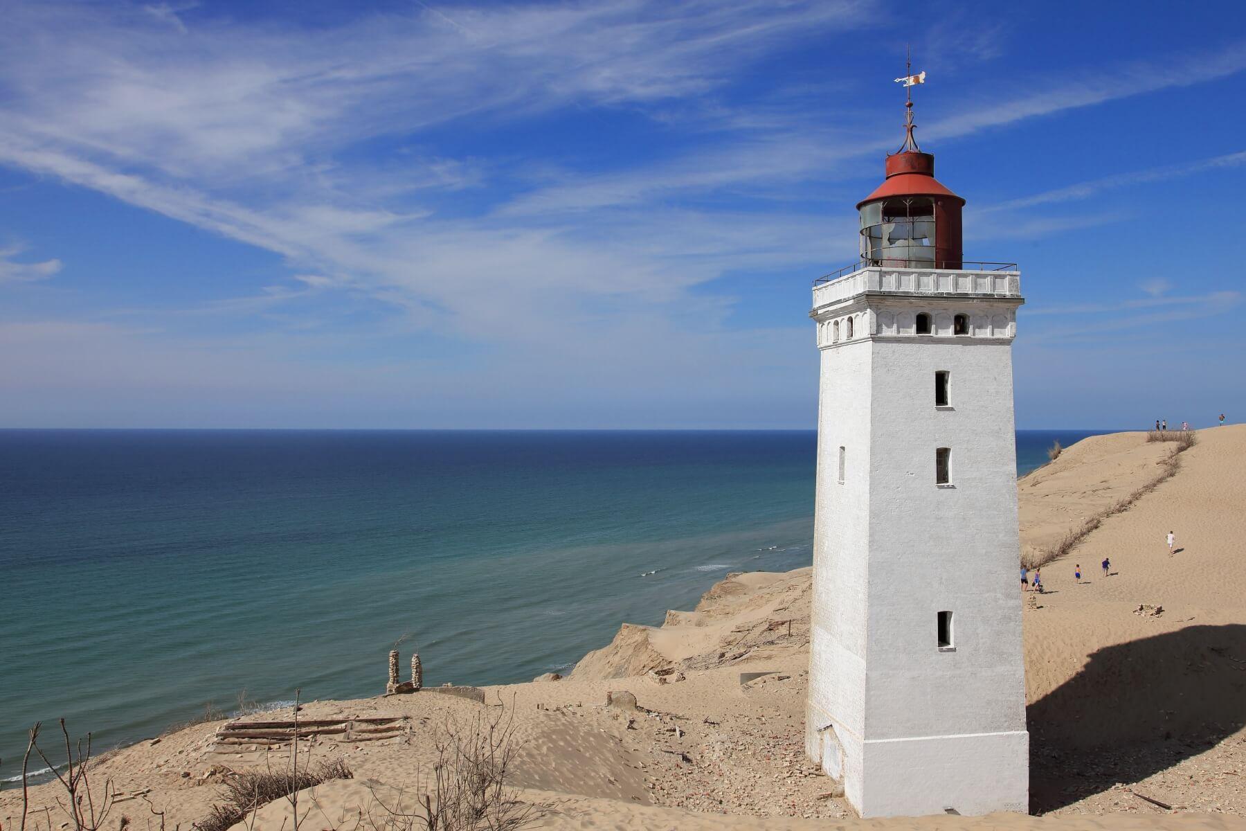 Leuchtturm in Dänemark