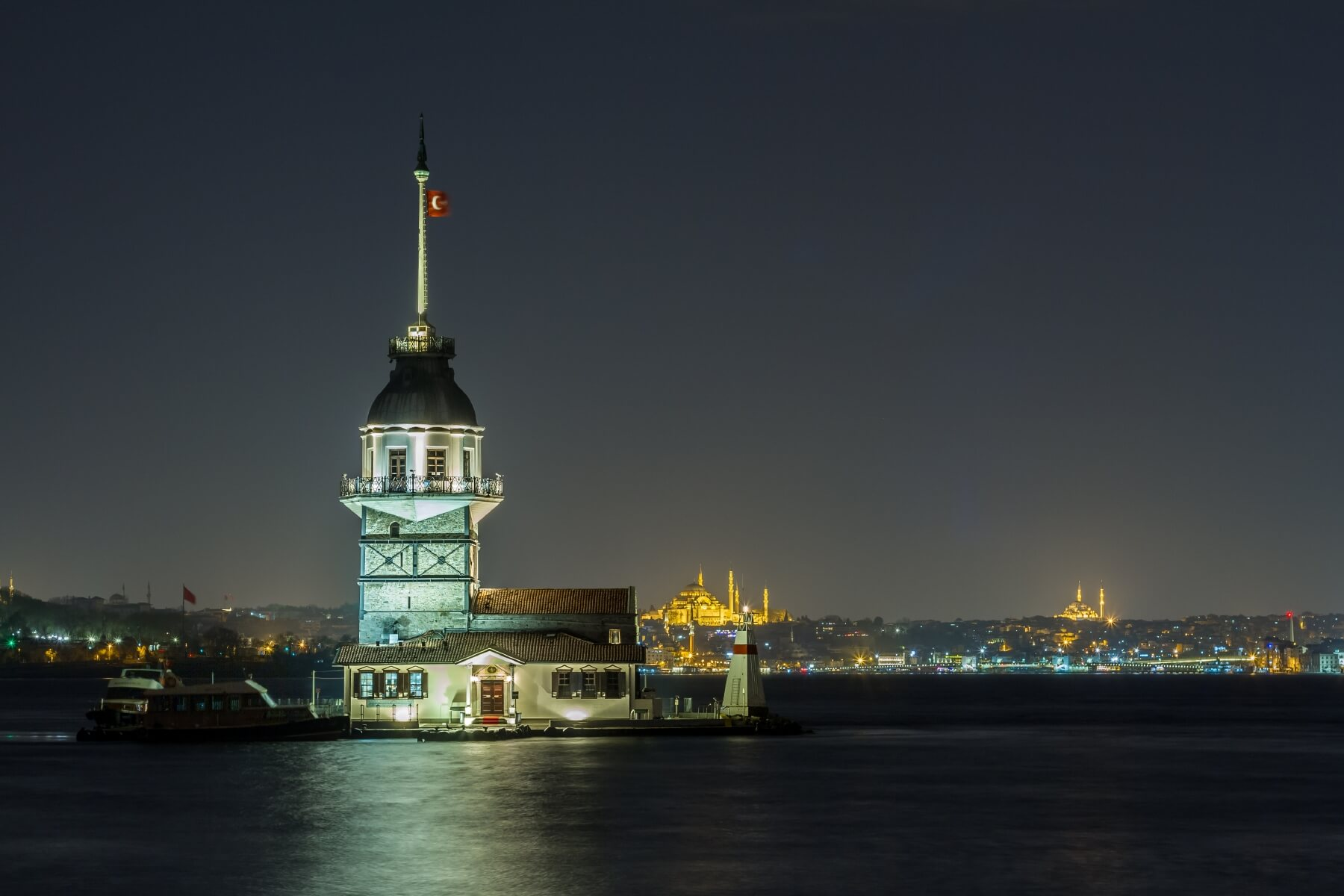 Leuchtturm im Bosporus