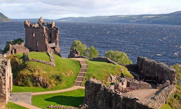 Schloss Urquhart bei Loch Ness
