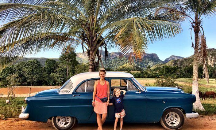 Auf Kuba mit Kind