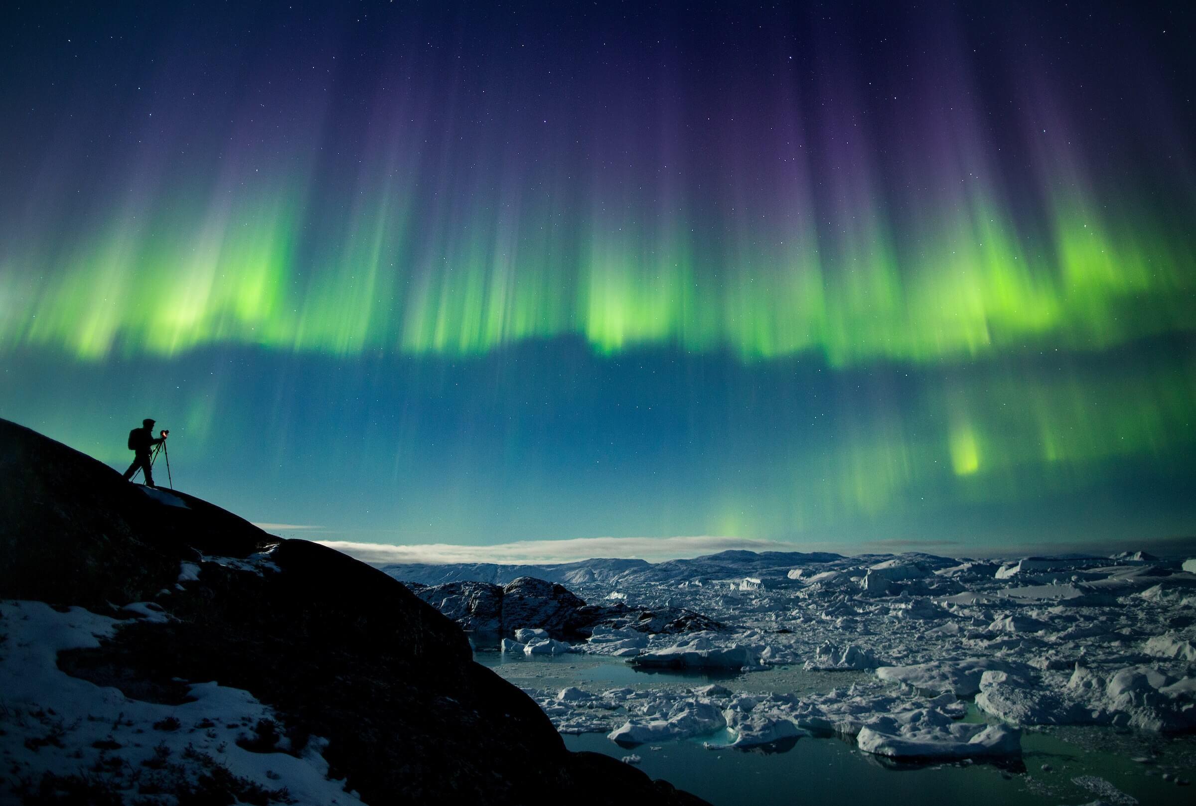 Nordlichter Visit Greenland