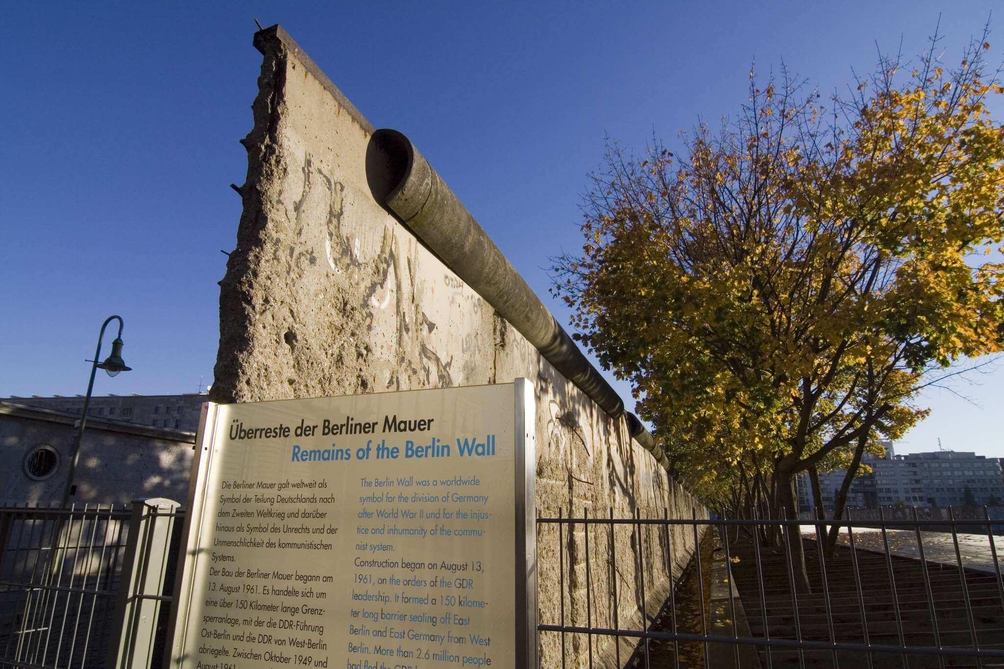 Politische Touren - Berliner Mauer