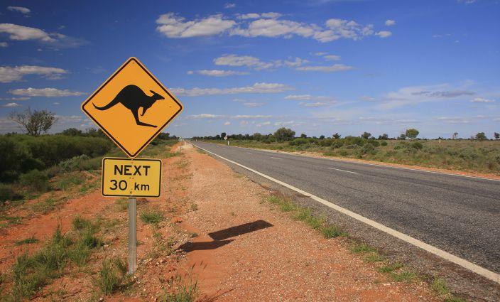 Roadtrip durch Australien mit Van fahren