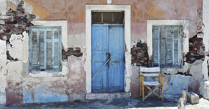 altes Haus auf Kreta