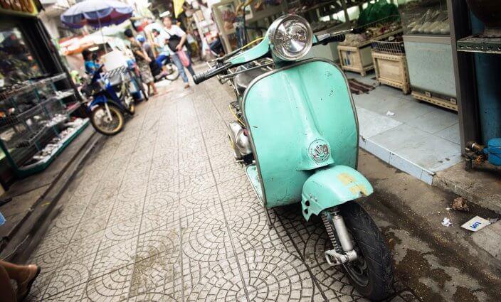 Roller mieten in Südostasien