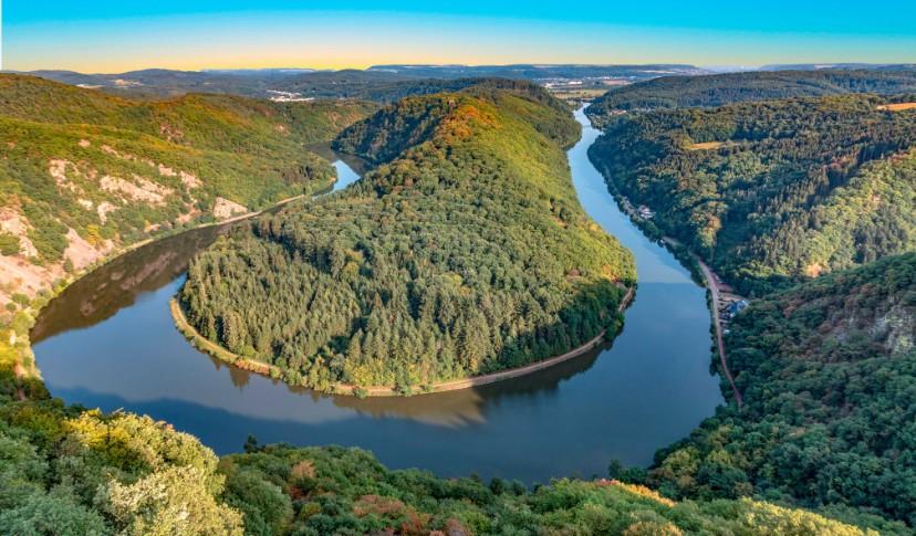 Saarschleife in Rheinland-Pfalz