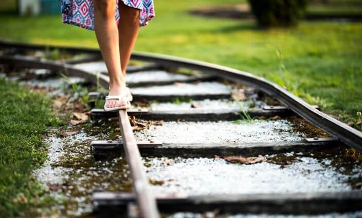 Schuhe auf Reisen