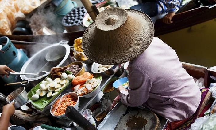 Garküche in Thailand