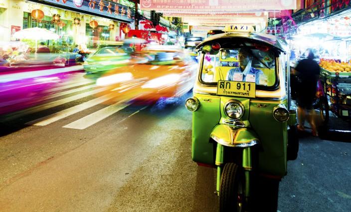 Sicher fahren in Thailand