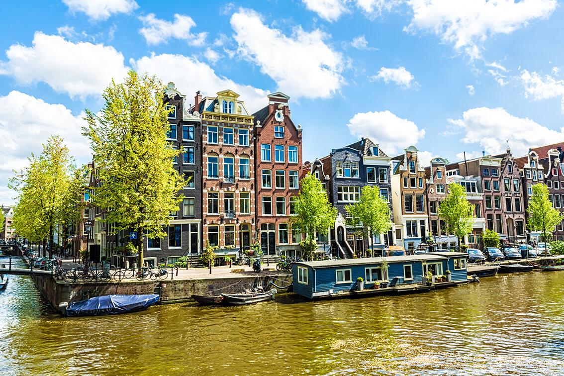 Urlaub auf dem Hausboot in Amsterdam