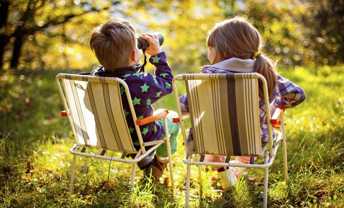 Kinder ohne Eltern reisen