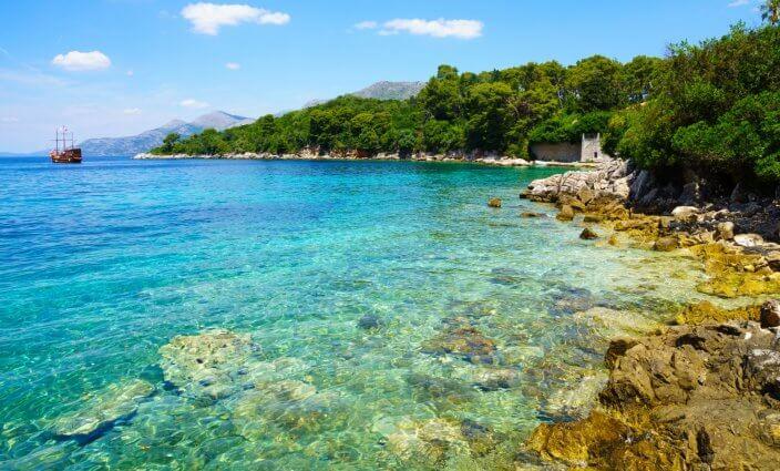 ERV Blog Urlaub ohne Auto in Kolocep Kroatien