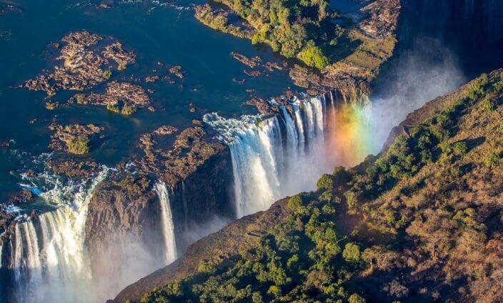Spektakuläre Wasserfälle: Victoriafälle