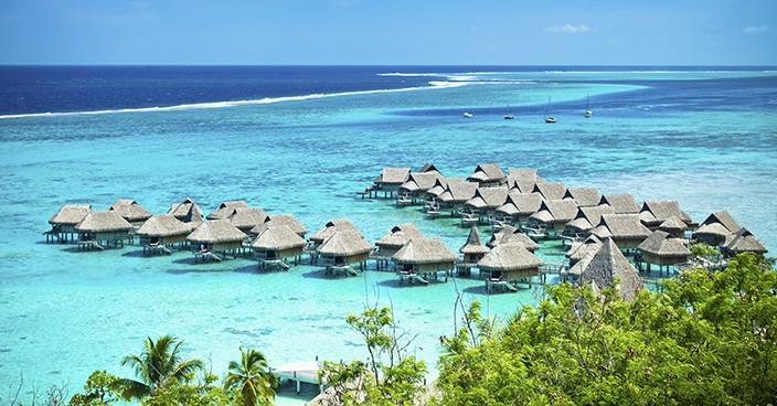 Weltreise mit Kindern auf Bora Bora