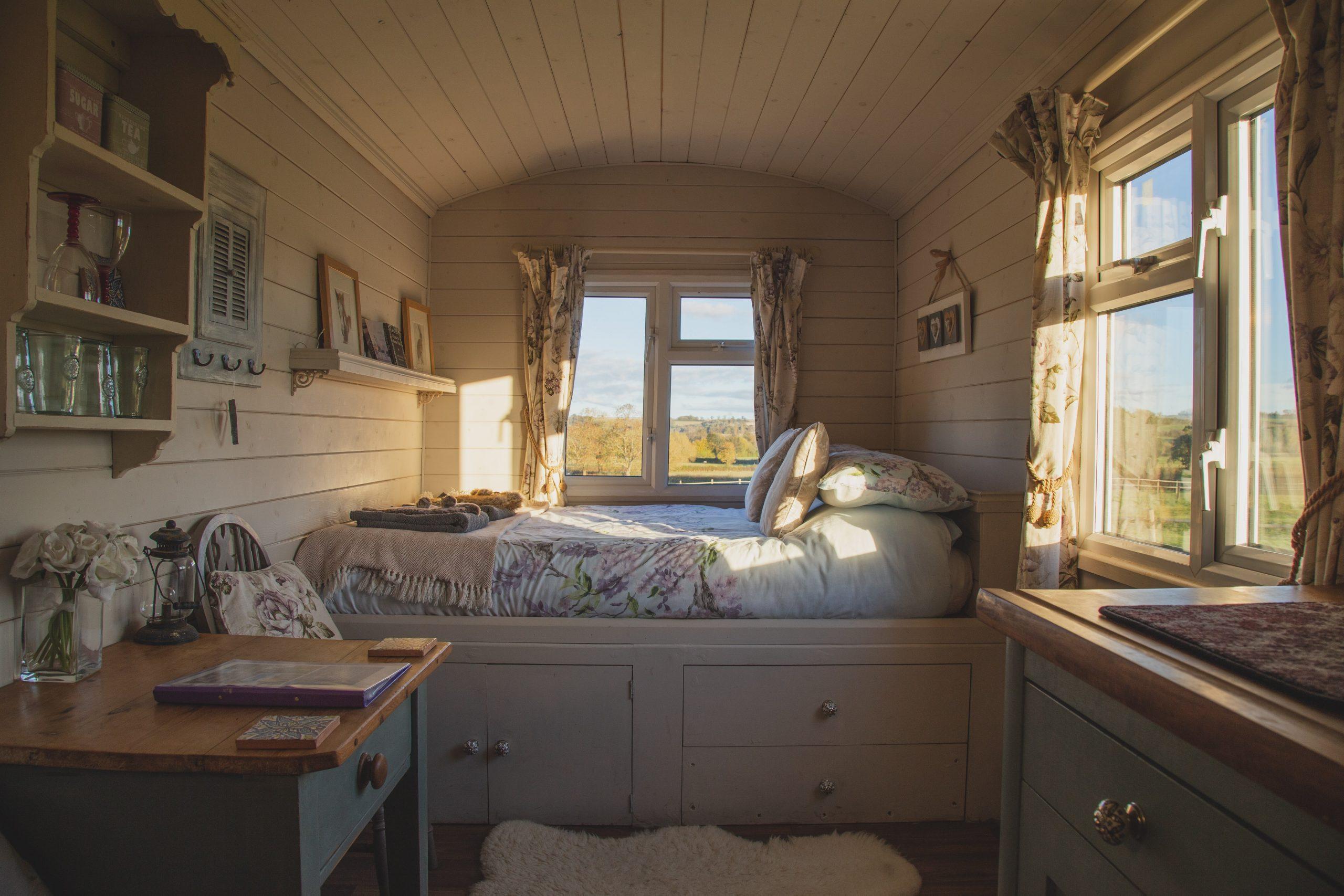 Tiny House Urlaub Inneneinrichtung