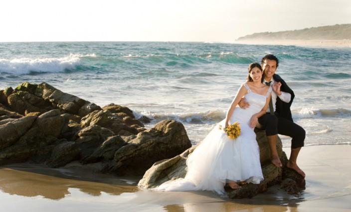 Heiraten neuseeland strand