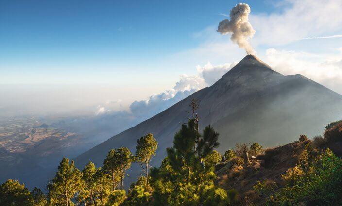 Aktive Vulkane aus nächster Nähe
