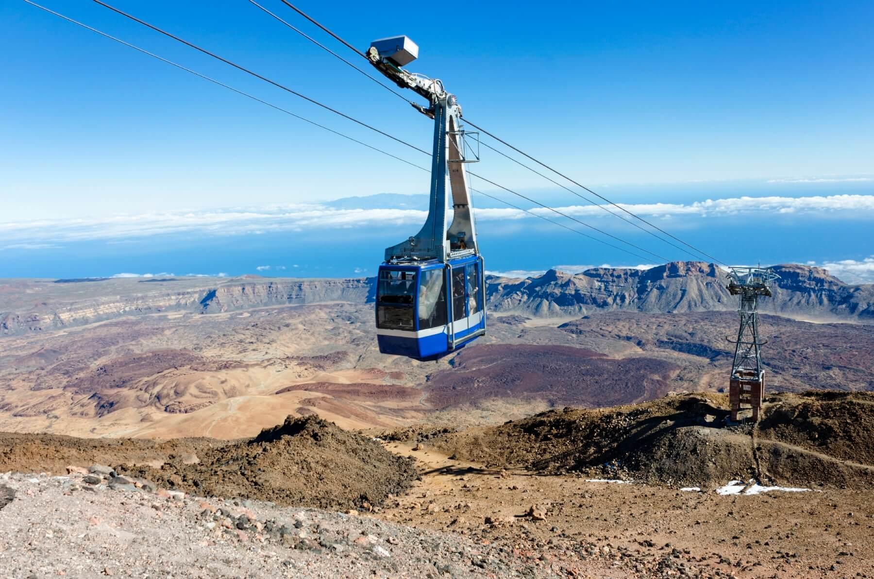Wanderung in Europa Pico del Teide Teneriffa