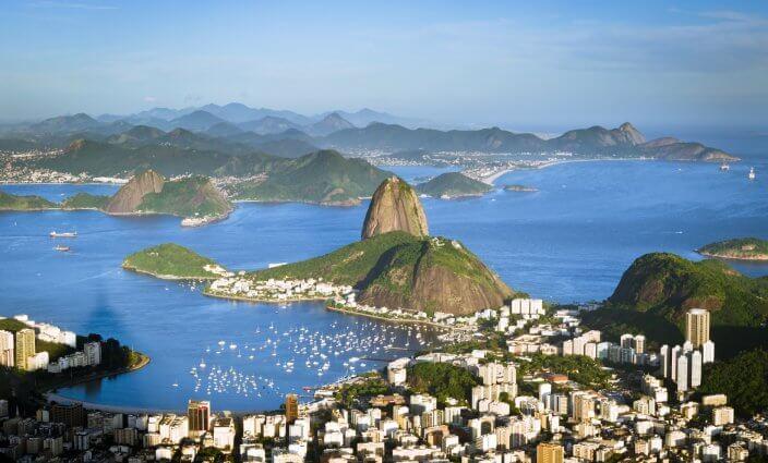Rio - Startpunkt für die längste Buslinie der Welt