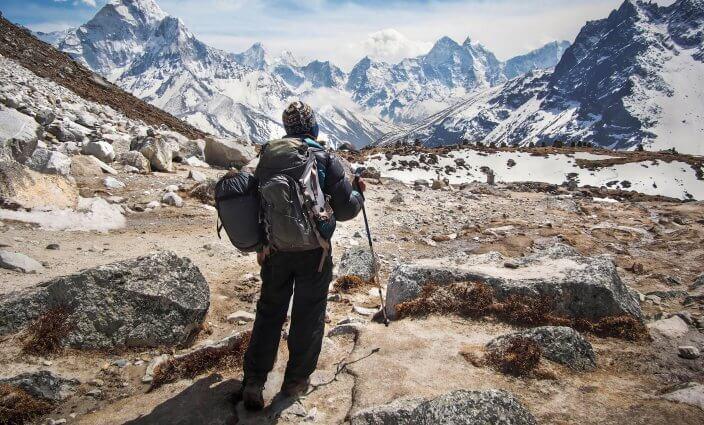 Höhenkrankheit bei Trekking, Nepal