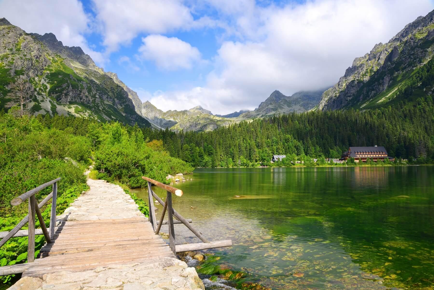Wandern in Europa Hohe Tatra in der Slowakei