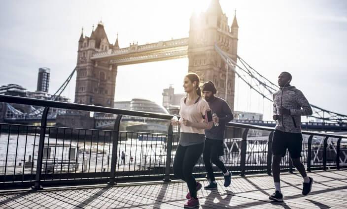 Sightjogging Stadt im Laufschritt erkunden