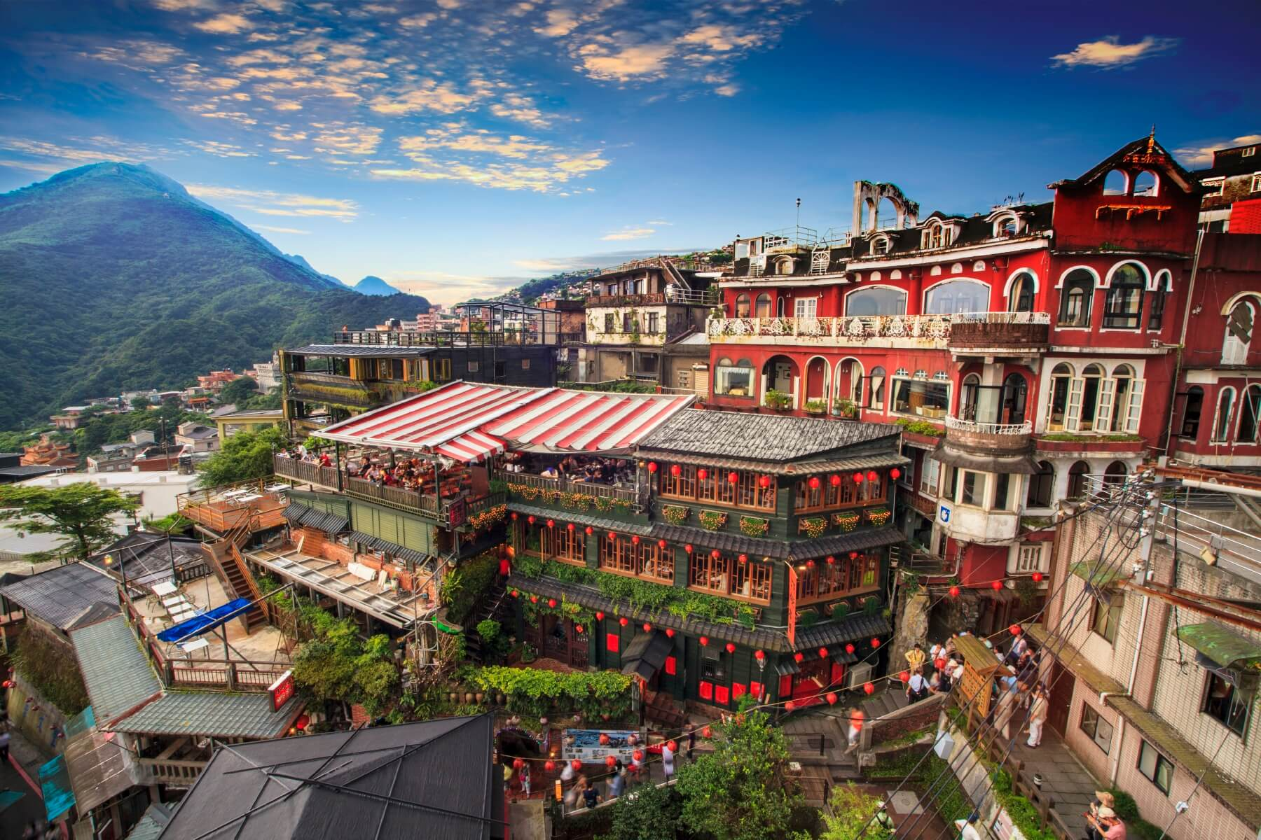 Jiufen Taipei in Taiwan Beste Expat-Städte