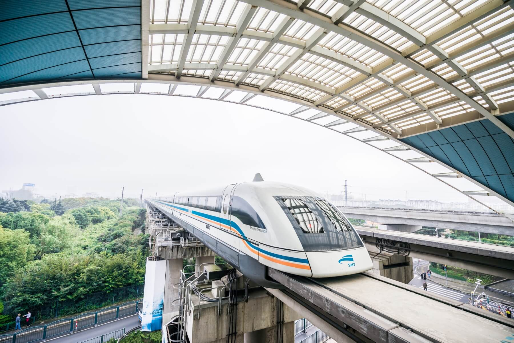 Maglev Train in China