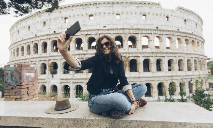 Selfies auf Reisen - was ist rechtlich erlaubt?