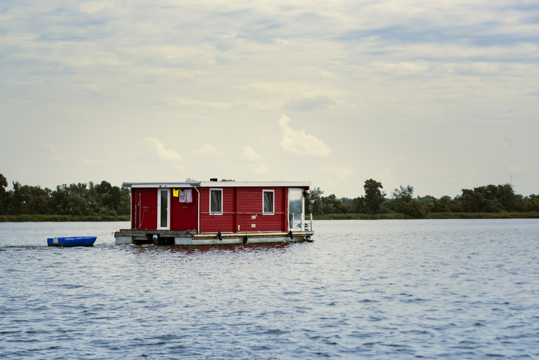 Hausboot Urlaub See in Deutschland