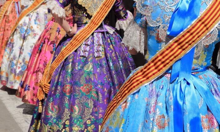 las Fallas Fest Tracht