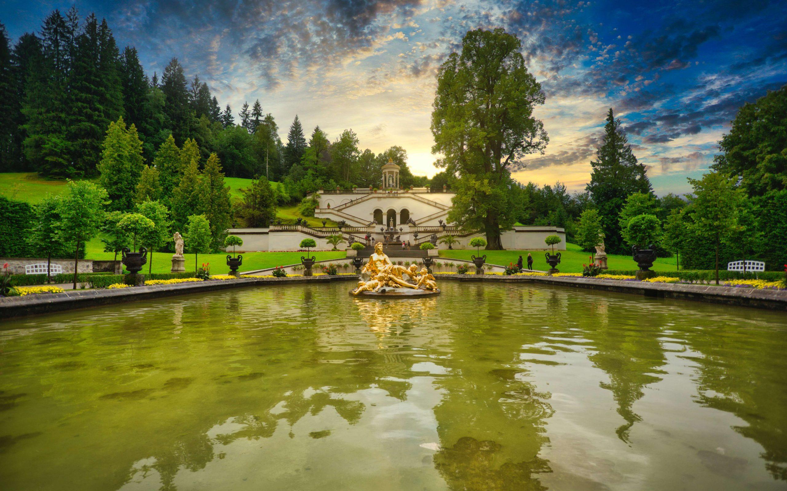 Schloss Linderhof Bayern