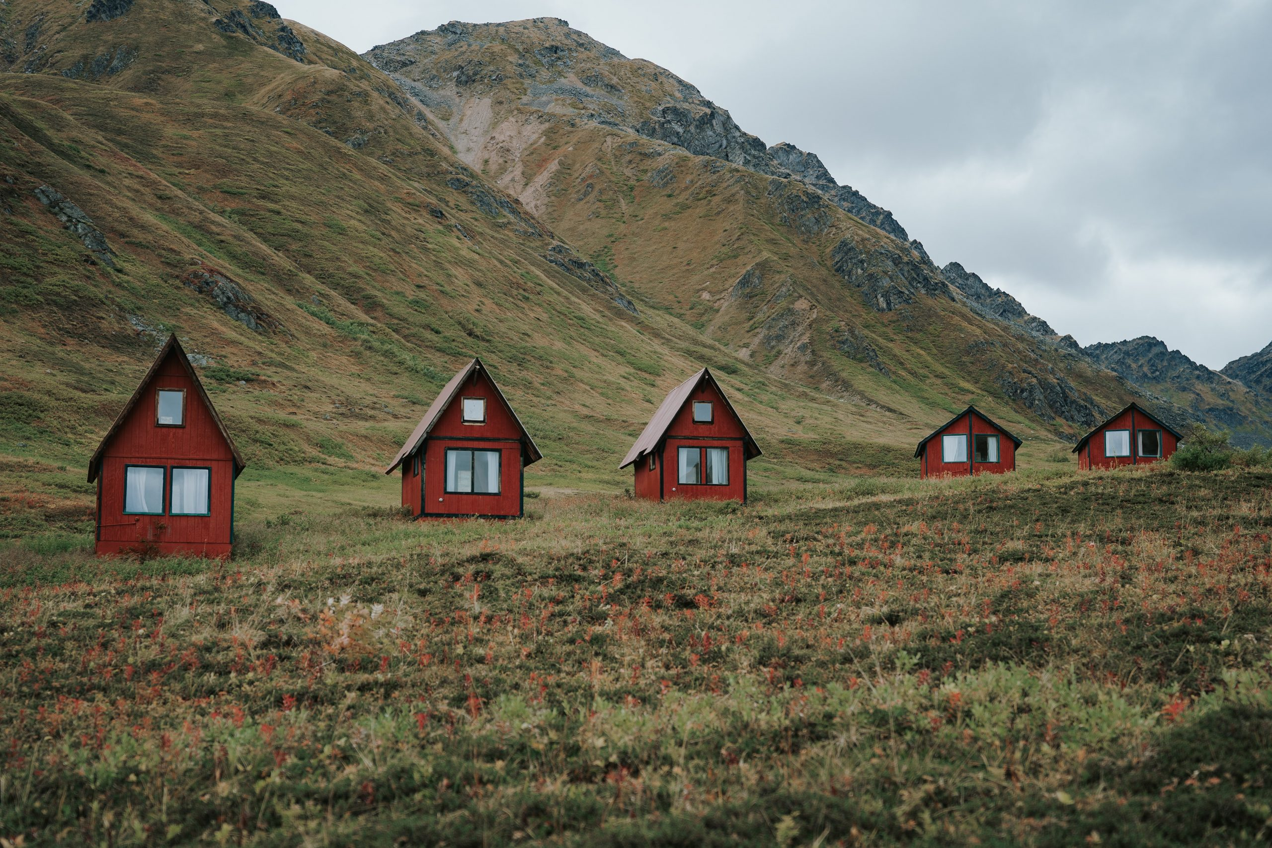 Tiny House in den Bergen