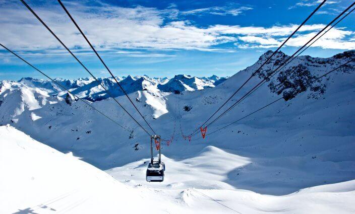 grüner Skifahren