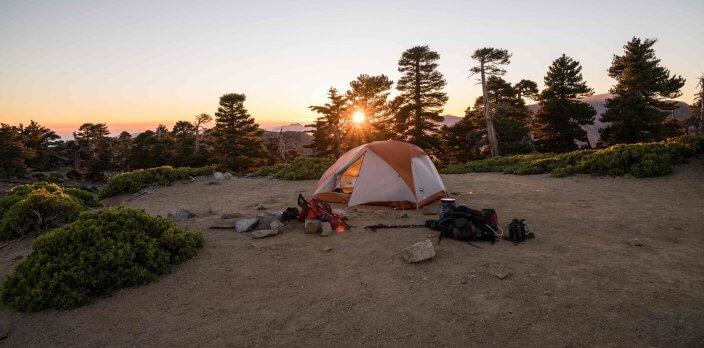 Camping-Trends Zelten in der Natur